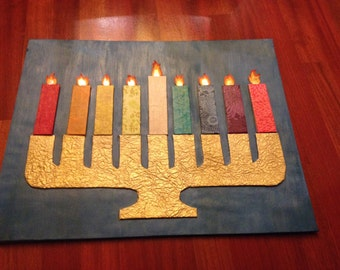 Interactive Menorah Board for Children