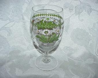 Portmeirion Botanic Garden Daisy Iced Tea Glass
