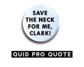 Christmas Vacation - Save the neck for me, Clark - pinback button