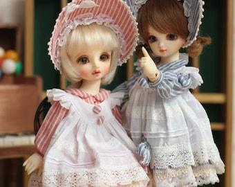 Little lady, dress for AZone 1/6 girl / YOSD bjd