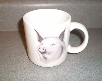 "Vintage 1992 ""Homer"" Ceramic Mug by Studio Q made in Taiwan"