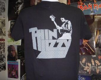 Thin Lizzy T-shirt (FREE SHIPPING in the Usa only) Jailbreak Phil Lynott UFO Rainbow Deep Purple Whitesnake Scorpions Budgie Saxon