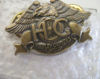 Harley Davidson Owners Group Pin  CL11-1
