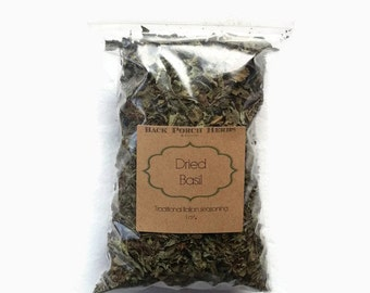 Dried Basil 1oz Herb for Cooking