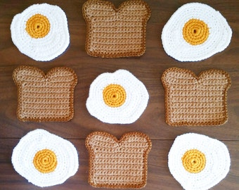 Additional Toast and Egg Coaster