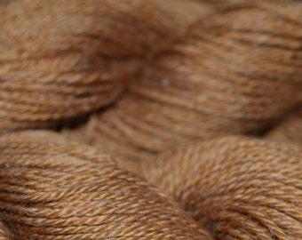 Suri llama bamboo wool yarn sport copper knit weave drape