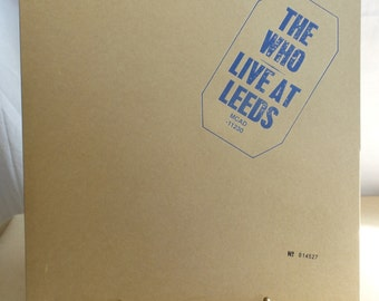 """Muscian Group """"The Who""""  Live at Leeds Cds Collector Set"""