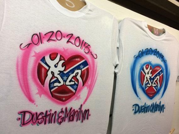 Browning Couple Shirts Camo Hunting Couple Shirt