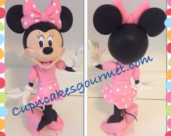 Minnie Mouse Clubhouse Cake Topper