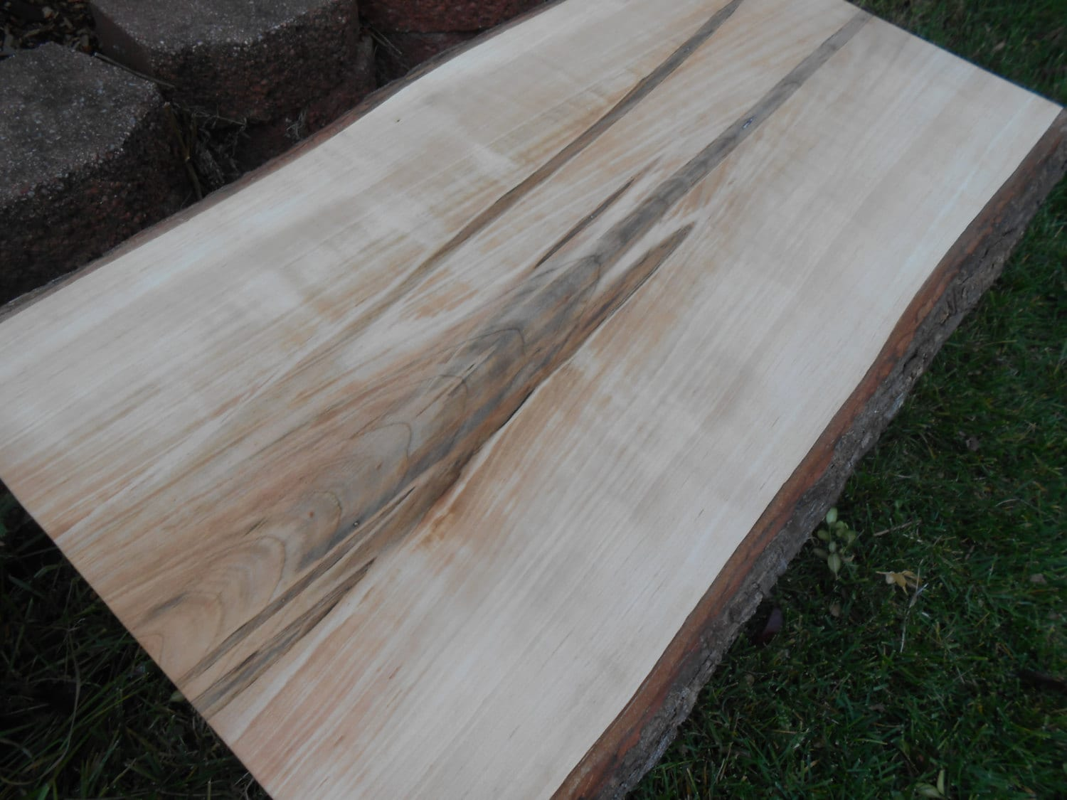 HUGE Rustic Ambrosia Maple Cutting Board Table Top. With