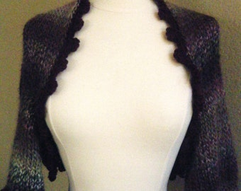 Hand Knit Bolero, Sweater or Shrug.