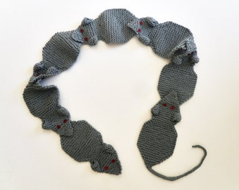 Knit / Rat Race Scarf (Please read AVAILABILITY)
