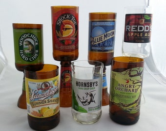 Scented Beer Bottle Candles with Pedestal (Hard Cider Beer and Fruit Beers)