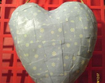 Cute Valentine Heart Paper Mache Wall Hanging #10