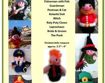 The Mini Knits Doll Knitting Pattern