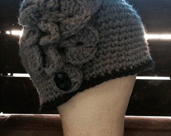 Cloche style hat.