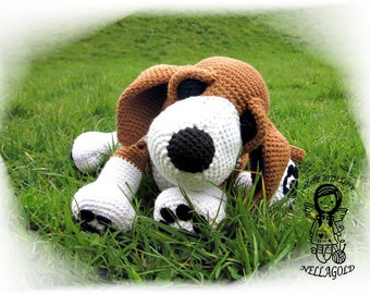 Crochet PATTERN, Amigurumi, Toy, Purse, Puppy 2in1, Dog, DIY Pattern 78