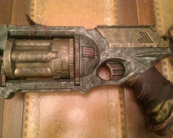 STEAMPUNK gun, Gun metal, Nerf Maverick toy gun ! For cosplay