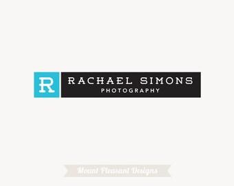 Photography logo design - premade logo design & watermark
