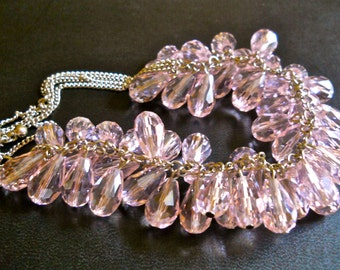 Butler Amp Wilson Rose Rhinestone Necklace By Renaissancefair