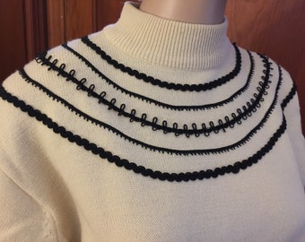 Vintage classic Christian Dior sweater