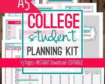 Student planner | Etsy