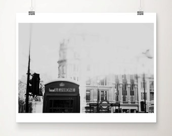 london photograph london print black and white photography telephone box photograph london decor architecture photograph