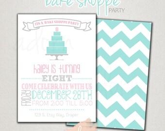 Bake Shoppe Birthday Party