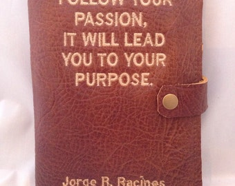 Leather Journal/Personalized Leather Journal/handcrafted