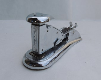 Bates Jr Metal Stapler Vintage Industrial Office