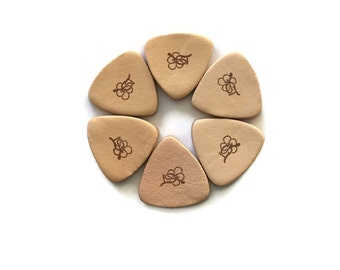 Real Leather Instrument Pick (3/pk)
