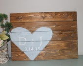 Custom wood pallet wedding guestbook, alternative guestbook, rustic wedding sign, custom wedding sign, wood sign guestbook