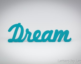 Wall decor words letters