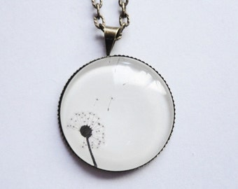Necklace Flower Dandelion