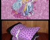 Princess Pillow Bed, Princess Nap Mat,  Pillow Mattress, Sleepover Bed