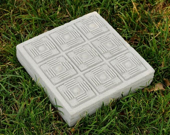 Cement Paver Stone, Ancient Ruin #1