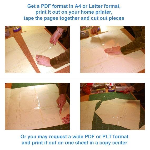 Lekala 4575 - PDF Muster, Nähmuster PDF, Maßgeschneiderte ...