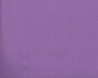 Lilac Solid Cotton Fabric -- Lilac Fabric --- Fabric By The Yard