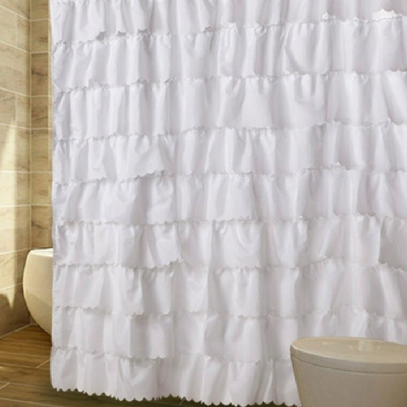 Ruffle Waterfall Shabby French Country Cottage By Lovelydecor