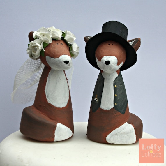 Fantastic Mr Fox Cake Toppers