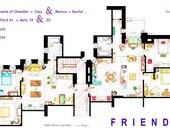 "Monica-Rachel & Chandler-Joey Apartments from ""FRIENDS"""