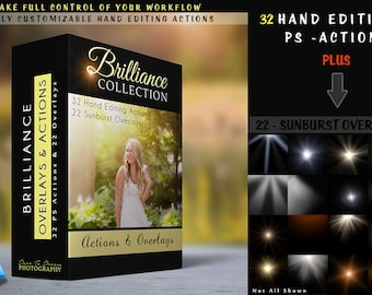 Brilliance - Hand Editing PS Action Collection