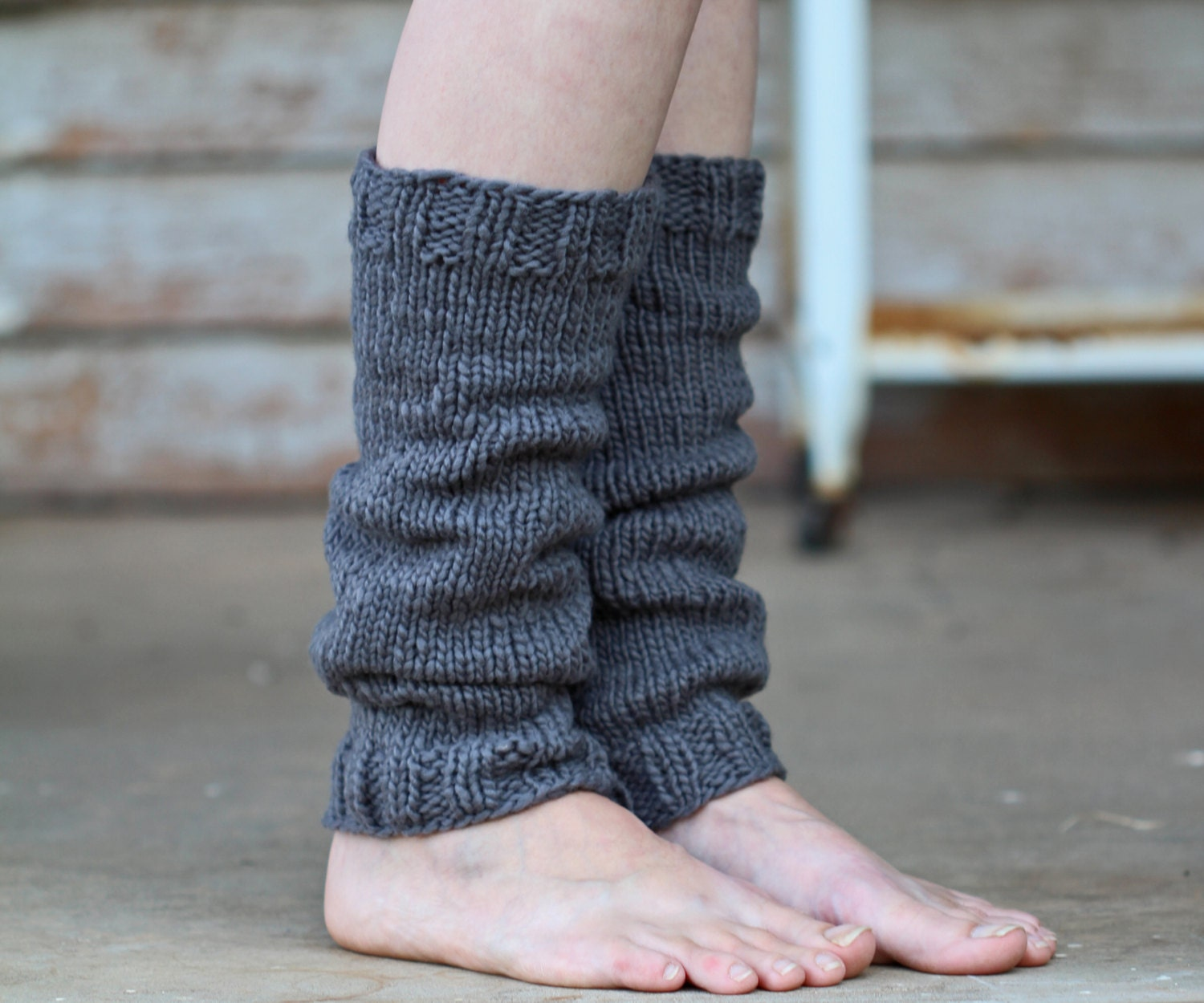 Leg Warmers Knitting Pattern MEEK a set of INSTRUCTIONS to