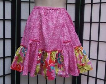 5T Gathered Skirt, Cotton Skirt