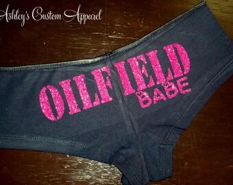 Oilfield Babe Underwear