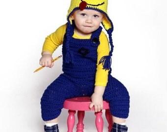 Yellow Long Sleeve Shirt for Minion Costume