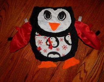 Penguin Lovey Blanket Friend