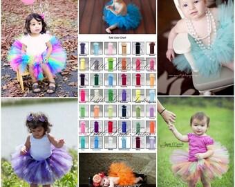Design Your Own Tutu - Create a Custom Tutu, Baby Tutu, Girls Tutu, Birthday Tutu, Flower Girl Tutu, Photo Prop
