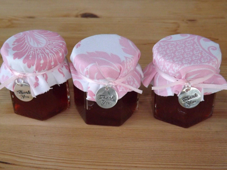 Set Of 12 2oz Jam Jar Favors Wedding Jar By JirehCraftyCreations