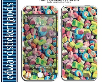 iPhone Decorative Cover Skin - Lucky Marshmallow Pattern!